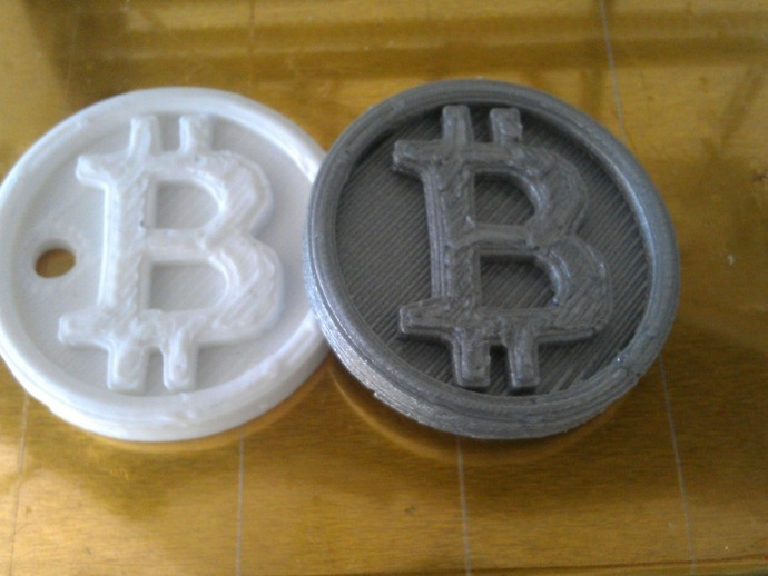 3D Printed Bitcoins