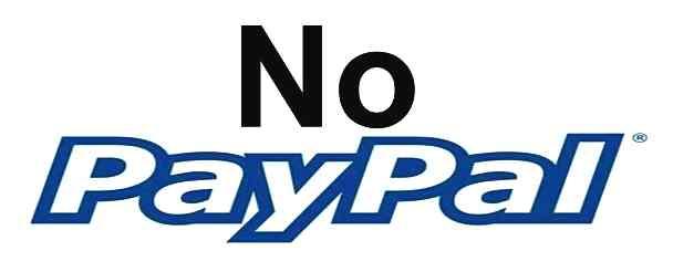 No PayPal